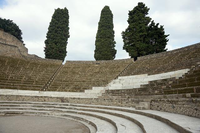Large Theater, Pompeii