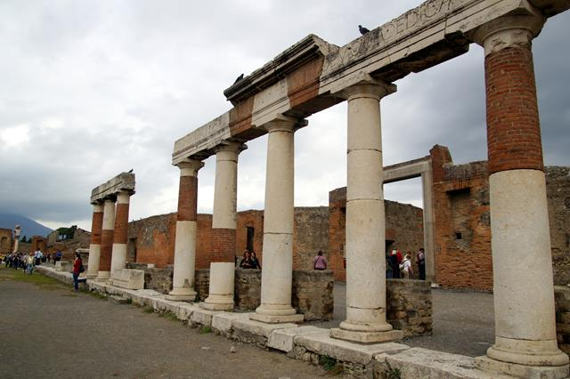 The Foro, Pompeii
