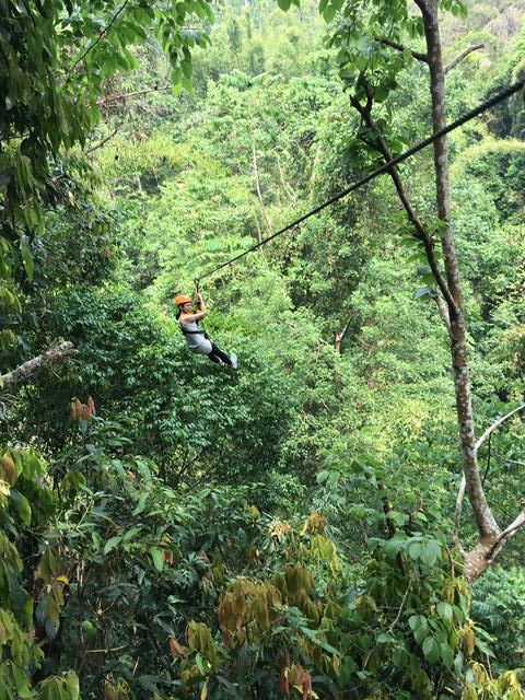 Chiang Mai Ziplining - Flight of the Gibbon