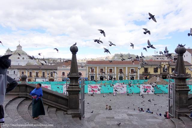 Plaza de San Francisco, Quito, Ecuador