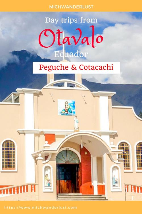 Otavalo is worth so much more than a day trip from Quito. There are a number of day trips from Otavalo itself that are worth making, like the popular Peguche waterfalls and the tranquil Cotacachi. Find out more at https://www.michwanderlust.com | MichWanderlust | #travel #Ecuador #Otavalo #daytrip