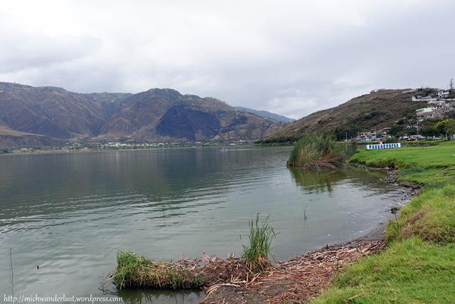 Laguna Yahuarcocha Ibarra Ecuador