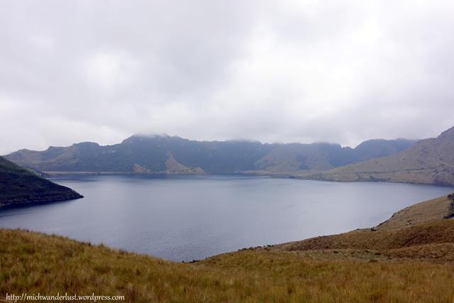 Lagunas de Mojanda - big lake (la grande) Otavalo Ecuador
