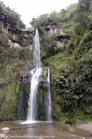 Taxopamba Waterfalls Otavalo Ecuador