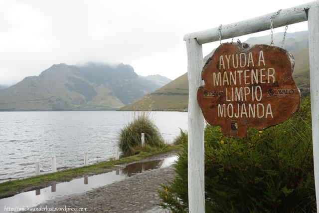 Laguna grande (big lake) de Mojanda | Otavalo | Ecuador | hiking
