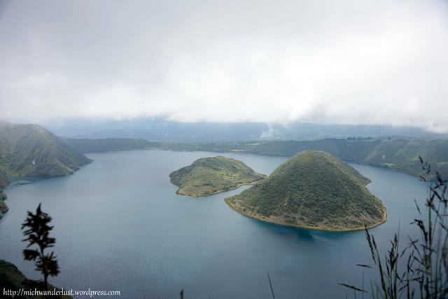 laguna de Cuicocha Otavalo Ecuador