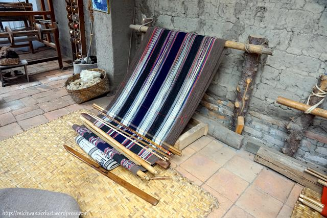 Miguel Andrango backstrap weaving Otavalo Ecuador