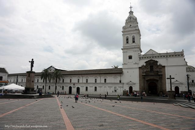 Church and Plaza de Santo Domingo Quito