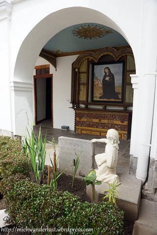 La Azucena Mariana de Jesus Museo del Carmen Alto Quito