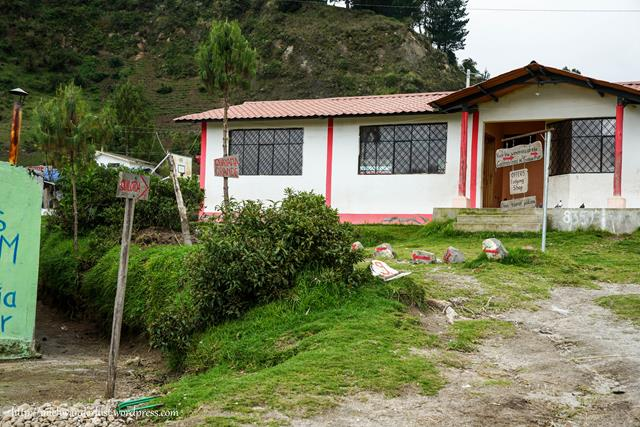 Little village on the way to Chugchilán to Quilotoa