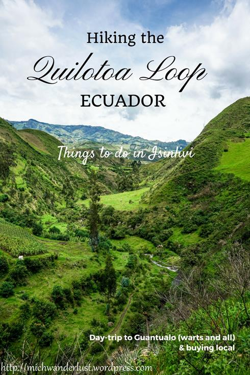 Hiking the Quilotoa Loop | Ecuador | Things to do in Isinlivi | Day-trip to Guantualo | Hostal LLullu Llama | Isinlivi to Guantualo