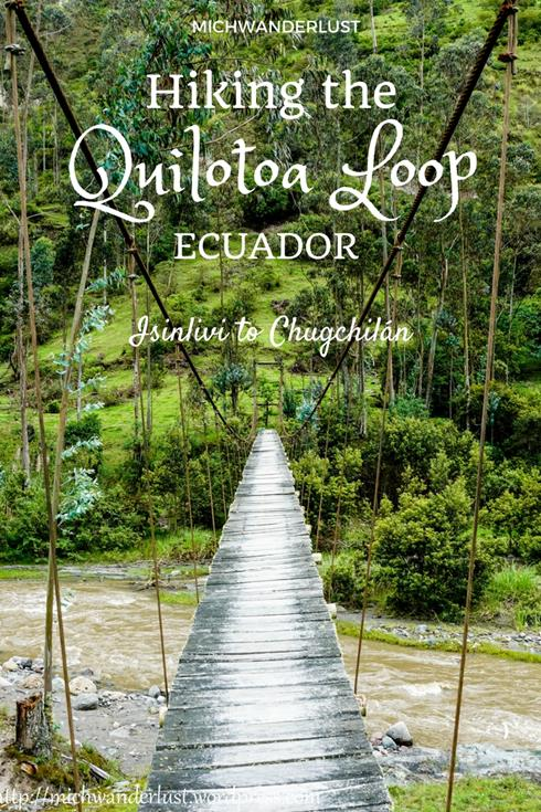 HIking the Quilotoa Loop | Isinlivi to Chugchilan | Ecuador