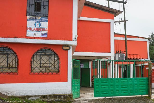 Wool-spinning factory, Salinas de Guaranda, Ecuador