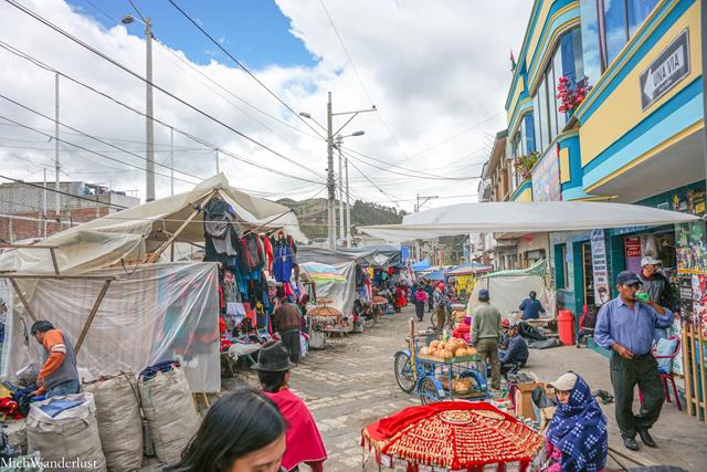 Guamote market, Ecuador