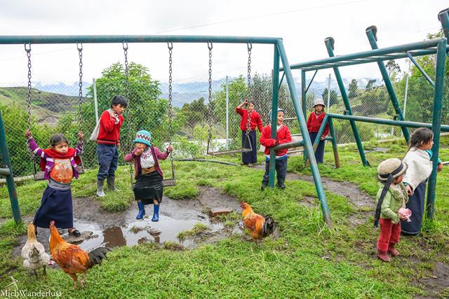 Community visit with Inti Sisa, Guamote, Ecuador