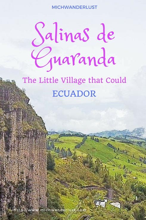 Once an impoverished village, Salinas de Guaranda in the Ecuadorean Andes is now a poster child for sustainable rural development and community-based tourism. Find out more at MichWanderlust.com   #Travel #Ecuador   MichWanderlust