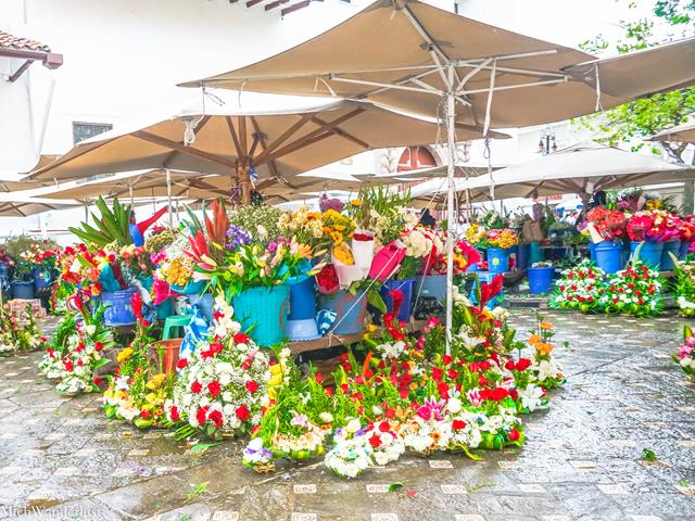 Flower market, Cuenca, Ecuador