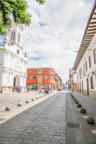 Sunday in Cuenca, Ecuador