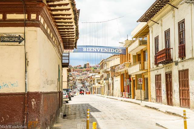 Streets of Cuenca, Ecuador