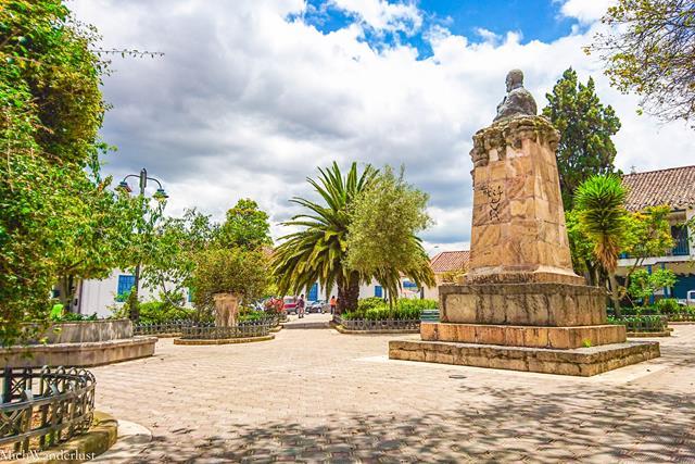 Plaza de San Sebastian, Cuenca, Ecuador
