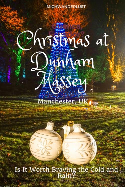 Christmas at Dunham Massey, Manchester - Find out if it's worth braving the cold and the rain for this! #Christmas in #Manchester #England #Travel