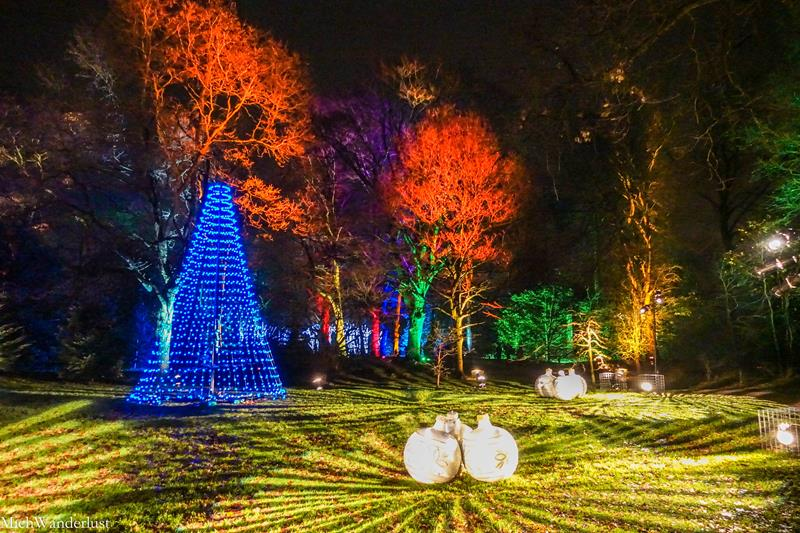 England Christmas Lights.Christmas At Dunham Massey In Manchester England Is It