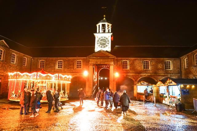 Christmas at Dunham Massey, Manchester