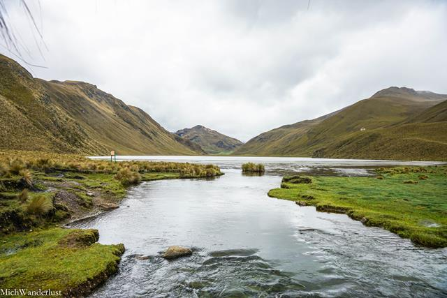 Laguna de Culebrillas, Ecuador