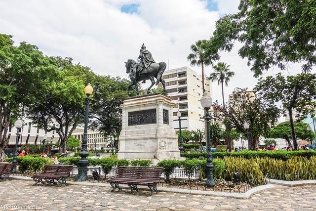 Parque Bolivar, Guayaquil, Ecuador