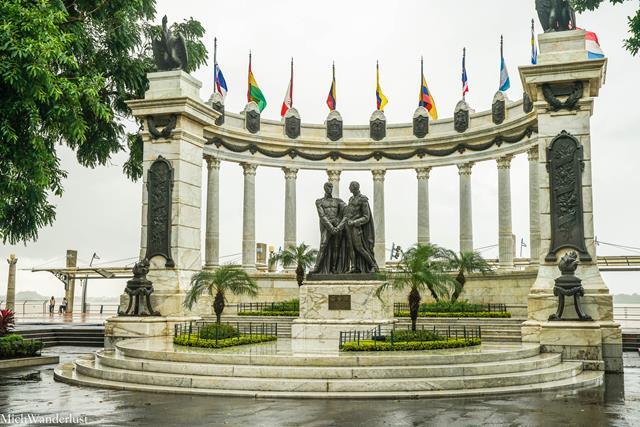 La Rotonda, Guayaquil Malecón, Ecuador